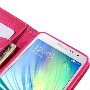 Puzdro na mobil Samsung Galaxy A3 - červené srdiečko - 7