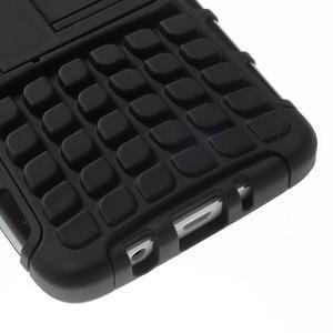 Outdoor odolný kryt na mobil Samsung Galaxy A3 - čierny - 7