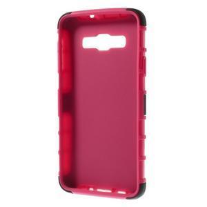Outdoor odolný kryt pre mobil Samsung Galaxy A3 - rose - 7