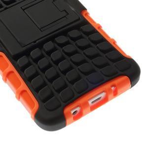 Outdoor odolný kryt pre mobil Samsung Galaxy A3    - oranžový - 7