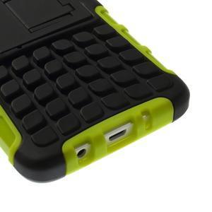 Outdoor odolný kryt na mobil Samsung Galaxy A3 - zelený - 7