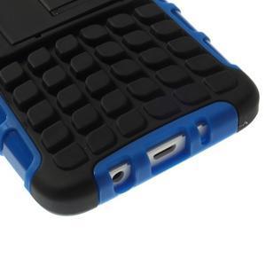 Outdoor odolný kryt pre mobil Samsung Galaxy A3    - modrý - 7