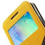 Roar peňaženkové puzdro s okienkom pre Samsung Galaxy A3    - žlté - 7/7