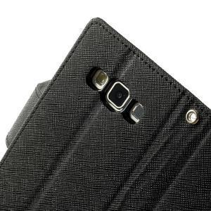 Diary PU kožené puzdro na Samsung Galaxy A3 - čierne - 7
