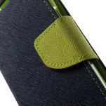 Fancy PU kožené puzdro pre Samsung Galaxy Core Prime - tmavomodré - 7/7