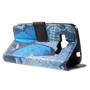 Puzdro na mobil Samsung Galaxy Core Prime - modrý motýl - 7