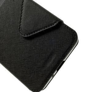 Safety puzdro s okienkom pre Samsung Galaxy Grand Prime - čierne - 7