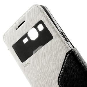 Safety puzdro s okienkom pre Samsung Galaxy Grand Prime - biele - 7