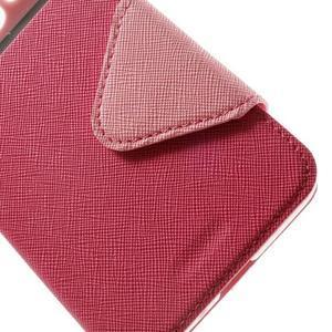 Safety puzdro s okienkom pre Samsung Galaxy Grand Prime - rose - 7