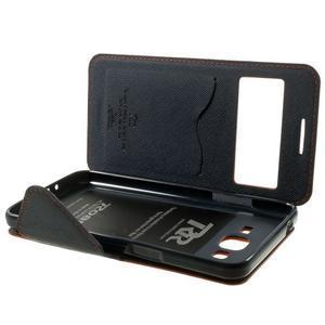 Safety puzdro s okienkom pre Samsung Galaxy Grand Prime - oranžové - 7