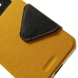 Safety puzdro s okienkom pre Samsung Galaxy Grand Prime - žlté - 7