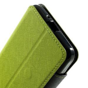 Safety puzdro s okienkom pre Samsung Galaxy Grand Prime - zelené - 7