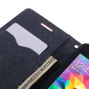 Diary PU kožené puzdro na mobil Samsung Galaxy Grand Prime - červené - 7