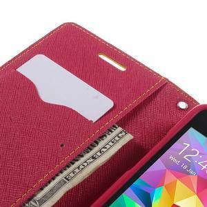 Diary PU kožené puzdro na mobil Samsung Galaxy Grand Prime - žlté - 7