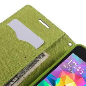 Diary PU kožené puzdro pre mobil Samsung Galaxy Grand Prime - tmavomodré - 7