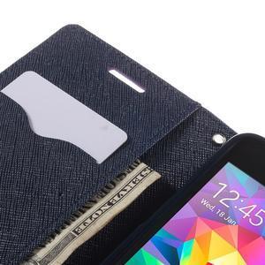 Diary PU kožené puzdro na mobil Samsung Galaxy Grand Prime - fialové - 7
