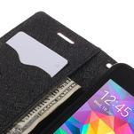 Diary PU kožené puzdro na mobil Samsung Galaxy Grand Prime - hnedé - 7/7
