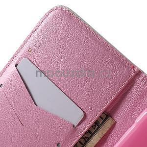 Vzorové peňaženkové puzdro na Samsung Galaxy Xcover 3 - kvitnúca vetvička - 7