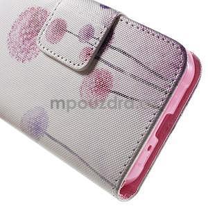 Vzorové peňaženkové puzdro pre Samsung Galaxy Xcover 3 - púpava - 7