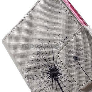 Vzorové peňaženkové puzdro na Samsung Galaxy Xcover 3 - odkvitnutá púpava - 7