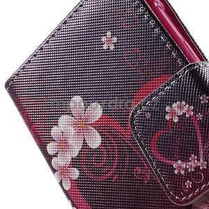 Vzorové peňaženkové puzdro na Samsung Galaxy Xcover 3 - srdce - 7