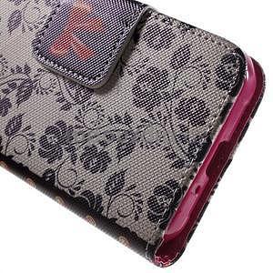 Vzorové peňaženkové puzdro na Samsung Galaxy Xcover 3 - mašlička - 7