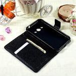 Štýlové peňaženkové puzdro pre Samsung Galaxy Xcover 3 - modrý motýľ - 7/7