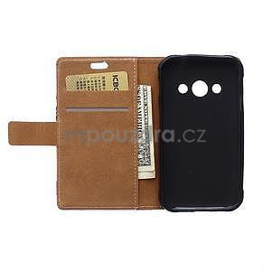 Peňaženkové púzdro na Samsung Galaxy Xcover 3 - mačička - 7
