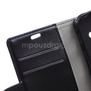 Čierne koženkové puzdro Samsung Galaxy Xcover 3 - 7