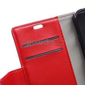 Červené koženkové puzdro Samsung Galaxy Xcover 3 - 7