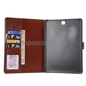Jeans pouzdro na tablet Samsung Galaxy Tab A 9.7 - černomodré - 7