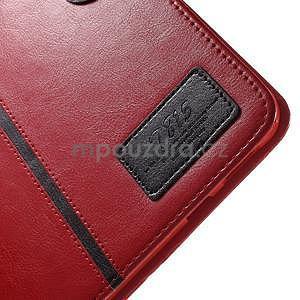 Flatense štýlové puzdro pre Samsung Galaxy Tab S2 9.7 - červené - 7
