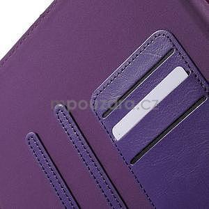Flatense štýlové puzdro pre Samsung Galaxy Tab S2 9.7 - fialové - 7