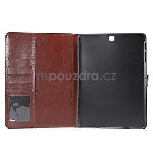 Jeans puzdro na tablet Samsung Galaxy Tab S2 9.7 - čiernomodré - 7