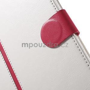 Flatense štýlové puzdro pre Samsung Galaxy Tab S2 9.7 - biele - 7