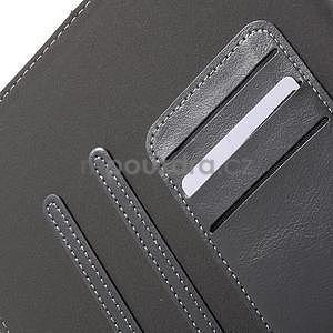 Flatense štýlové puzdro pre Samsung Galaxy Tab S2 9.7 - šedé - 7