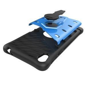 Armory odolný obal so stojanom na Sony Xperia E5 - modrý - 7