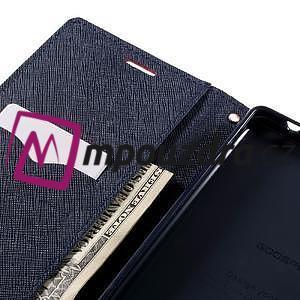 Diary PU kožené puzdro pre mobil Sony Xperia XA Ultra - červené - 7