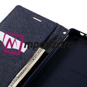 Diary PU kožené puzdro pre mobil Sony Xperia XA Ultra - rose - 7