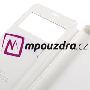 Richi PU kožené puzdro s okienkom na Sony Xperia XA Ultra - biele - 7