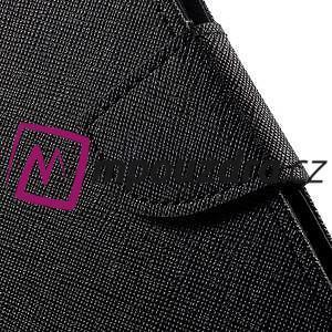 Diary PU kožené puzdro pre mobil Asus Zenfone 3 Deluxe - čierné - 7