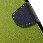 Diary PU kožené puzdro pre mobil Asus Zenfone 3 Deluxe - zelené - 7/7