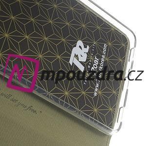 Diary peňaženkové pouzdro na mobil Asus Zenfone 3 Ultra - khaki - 7
