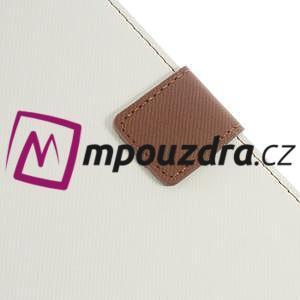 Diary peňaženkové puzdro pre mobil Asus Zenfone 3 Ultra - biele - 7