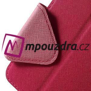 Diary puzdro s okýnkem na mobil Asus Zenfone 3 ZE520KL - rose - 7