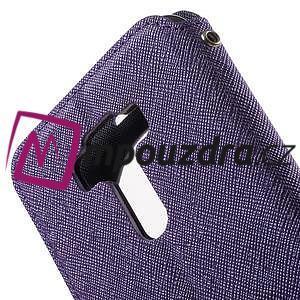 Diary puzdro s okienkom pre mobil Asus Zenfone 3 ZE520KL - fialové - 7
