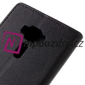 Leathy peňaženkové puzdro na Asus Zenfone 3 ZE520KL - čierne - 7