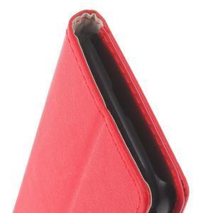 Peňaženkové puzdro pre mobil BlackBerry Classic - červené - 7