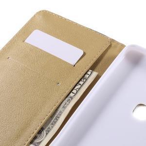 Flow peněženkové pouzdro na Honor 5X - bílé pozadí - 7