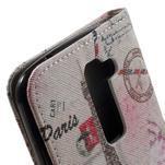 Wall peňaženkové puzdro pre LG K10 - Eiffelova veža - 7/7